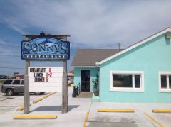 Sonny's Restaurant on the Hatteras Waterfront Outer Banks photo